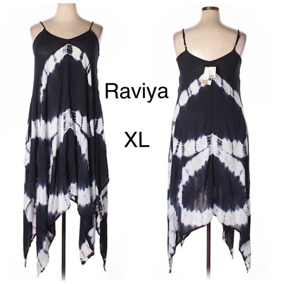 ded8e78b7248a Raviya Swim   Tie Dye Maxi Dress Coverup Nwt Sz Xl   Poshmark